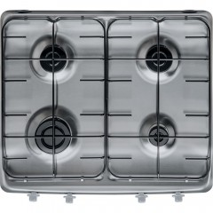 Ariston Built-in Gas Cooker 60 cm 4 Burners Stainless Steel: PAA 642 IX/I EE