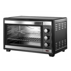 Fresh Electric Oven 60 Liter With Grill Black: FO-60L