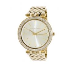 MICHAEL KORS Darci Glitz Gold Dial Pave Bezel Ladies Watch: MK3191