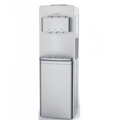 White Point Water Dispenser 3 Tabs Cold/Hot/Warm with Cabinet Silver WPWD87CS