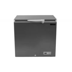 FRESH De-Frost Chest Freezer 180 Liter Digital Silver FDF220D