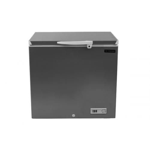 FRESH De-Frost Chest Freezer 180 Liter Silver FDF220D