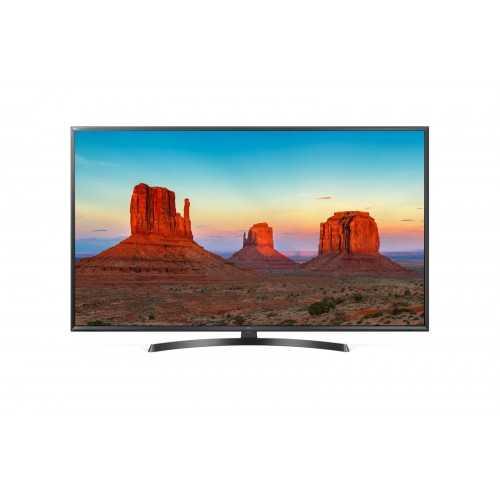 "LG 55"" LED TV Ultra HD 4K Smart WebOS With Built-In 4K Receiver 55UK6400PVC"