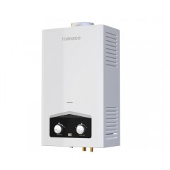 Tornado digital Gas water heater 10 Litre for liquefied petroleum gas White GHM-C10CTE-W