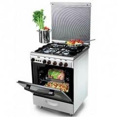KIRIAZI Gas oven 60*60 4 burner Stainless 6600S