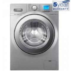 Samsung Washing Machine 12 KG silver :Wf1124xau