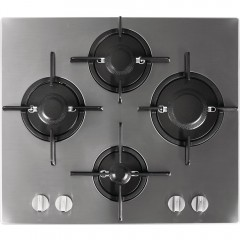 Ariston Built-in Gas Cooker 60 cm 4 Burners Safety Cast Iron Stainless FTGHL 641 D/IX/A LPG