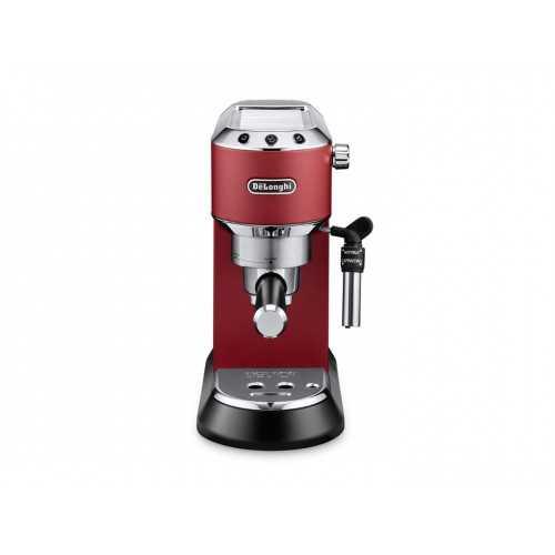 DeLonghi Dedica Pump Espresso Coffee Machine 15 Bar RED EC685 RD