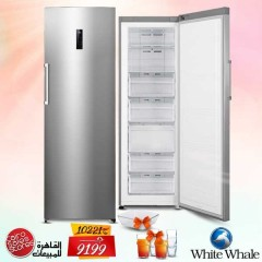 White Whale 7 Drawers Deep Freezer Dual Function Digital Screen Stainless + Gifts WF-3067MSS Digital