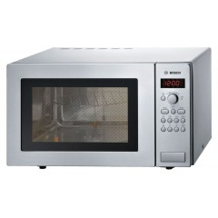Bosch Built-in Microwave 25 Liter With Grill Silver HMT84G451