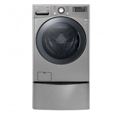 LG Twin Wash 18Kg With Dryer 10Kg Steam 1100 rpm Stainless + 3.5 Lower TwinWash: F0K2CHK2TU