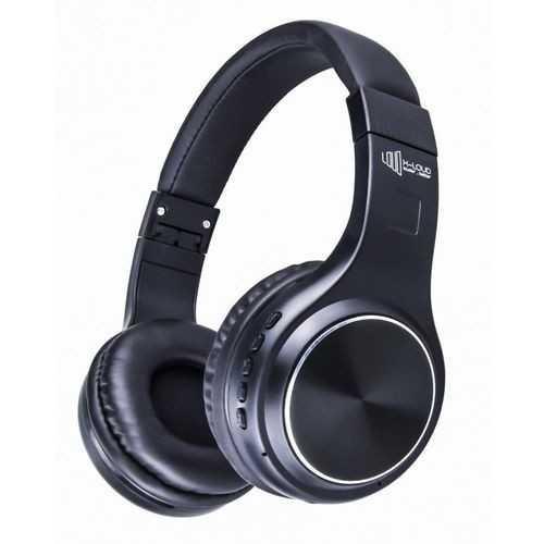 X-LOUD Bluetooth Headphone Rechargeable 250 mLD-H200Ah Li-polymer battery, Wireless,FM Support Black Color: LD-H200