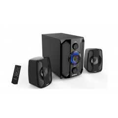 X-Loud Sound System FM radio, USB&SD, Remote, with Bluetooth Subwoofer RMS10W: LD-X160