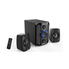 X-Loud Sound System FM radio, USB & SD, Remote, Bluetooth Subwoofer LD-X160