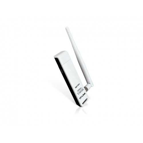 TP-Link 150Mbps High Gain Wireless USB Adapter WITH 2 DBI ANTENNA TL-WN722N