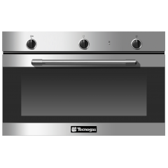 Tecnogas Built-In Gas Oven 90 cm With Electr Grill Stainless FN3K96G2X