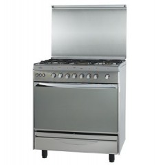Universal gas cooker 5 Gas Burners stanl : Bombay 6808