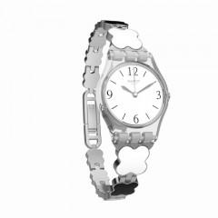 SWATCH Clovercheck Ladies Stainless Steel Band Watches LK367G