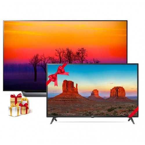 إل جي شاشة أو ليد 65 بوصة ألترا اتش دي  سمارت بريسيفر داخلي فور كيه TV OLED65C8PVA