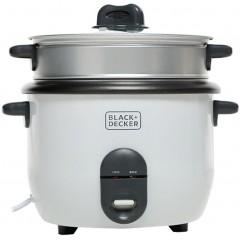 بلاك اند ديكر صانع الرز بالبخار بسعة 1.8 لتر بقوة 700 وات RC1860