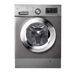 LG Washing Machine 9 Kg Direct Drive Steam With 5 Kg Dryer Silver Stone FH4G6VDGG6