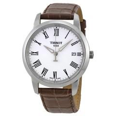 تيسوت كلاسيك دريم ساعة رجالي جلد بني T033.410.16.013.01