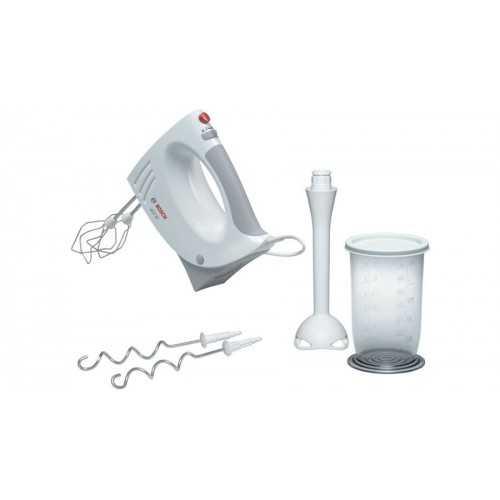 Bosch Hand Mixer 450 Watt 5 Speeds White MFQ3540