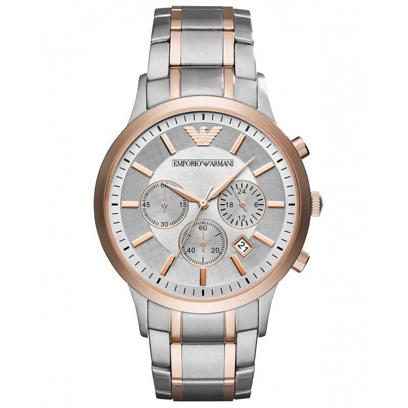 4860f4d91 Emporio Armani Men's Watch Stainless steel Water Resistant Chronograph  AR11077 ...