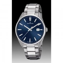 Candino Mens Quartz Watch stainless-steel Blue Dial C4621/3