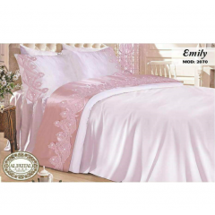 EMILY bedsheet Size 240cm*250 cm Embroidered B-2070