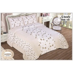 AL-FATTAL STANLY Bedspread Jacquard Joplin Tableau Size 240cm*250 Set 3 Pieces B-180