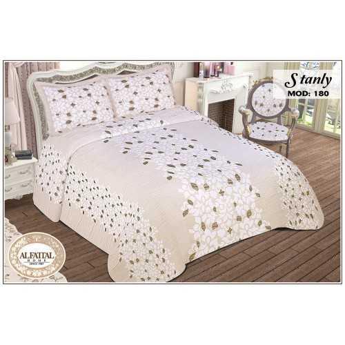 AL-FATTAL STANLY Bedspread Jacquard Joplin Tableau Size 240cm*250 Set 3 Pieces B-180