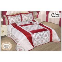 MARY Bedspread jacquard kadife Size 240cm*250 Set 4 Pieces B-220