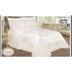 STELLA Bedspread Jacquard Size 240cm*250 Set 6 Pieces B-90