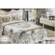 AL-FATTAL DOUBLE TABLEAU Bedspread Jacquard Tableau Size 240 cm*250 Set 3 Pieces B-110