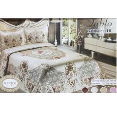 DOUBLE TABLEAU Bedspread Jacquard Tableau Size 240 cm*250 Set 3 Pieces B-110