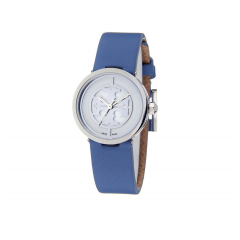 TORY BURCH Women's Watch Leather Blue Band TRB4006