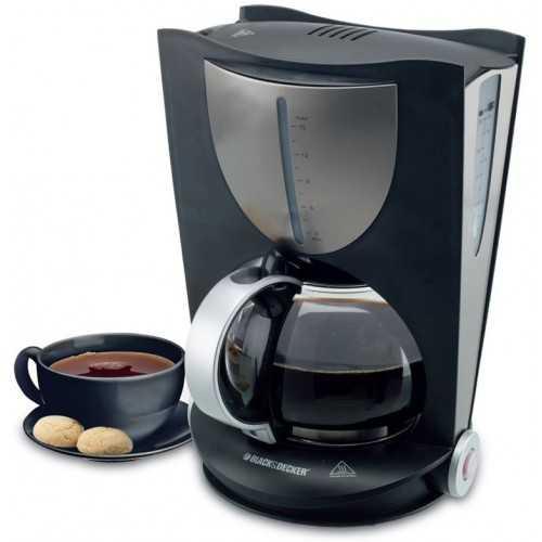 Black & Decker Coffee Maker 10 Cups Black DCM80