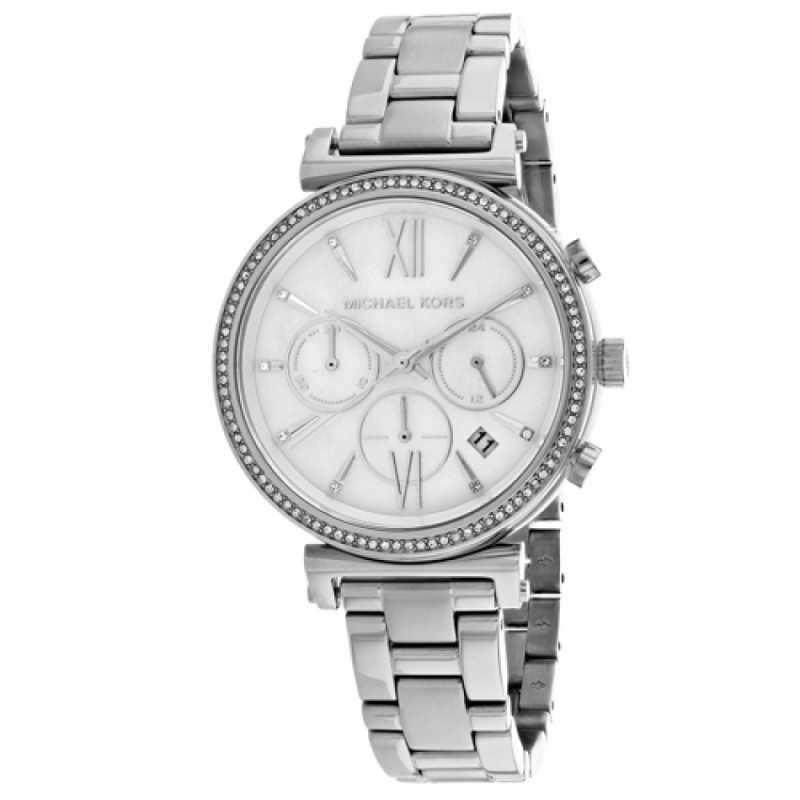 253887dbdc229 MICHAEL KORS Sofie Women s Watch Stainless Steel diameter 47 mm MK6575 ...