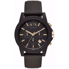 ARMANI EXCHANGE Men's Watch Chronograph with Silicone Strap AX7105