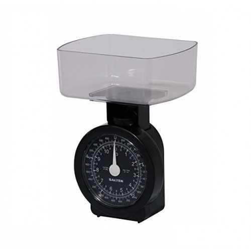 SALTER Scales 5KG Black Color S-114 BKCLDR