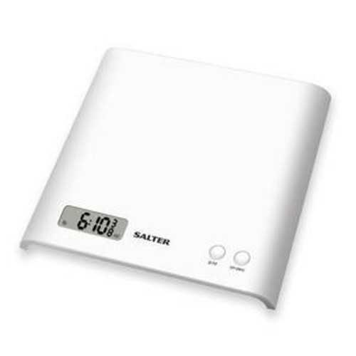 SALTER Scales 3KG White Color Digital Screen S-1066 WHDR