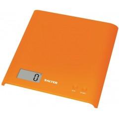 SALTER Scales 3KG Orange Color Digital Screen S-1066 AOGDR