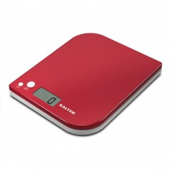 SALTER Scales 5KG Red Color Digital Screen S-1177 RDWHDR