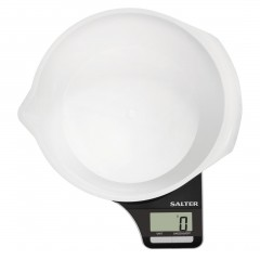 SALTER Scales 5KG Digital Screen 1.25 liter S-1089 BKWHDR