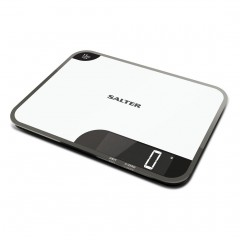 SALTER Scales 15 KG Digital Screen Made of glass S-1079 WHDR