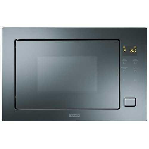 Franke Built-in Microwave Oven 25 Liter Digital With Grill Crystal FMW 250 CR G BM