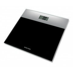 SALTER Body Scales Weighs up to 180 kg Made of liquid crystal Black Color S-9206 SVBK3R