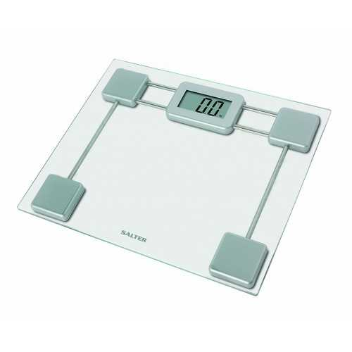 SALTER Body Scales Weighs up to 180 kg Made of Glass S-9082 SV3R