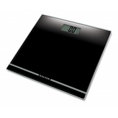 SALTER Body Scales Ultra Slim Large Display Glass Electronic Weighs up to 180 kg Black Color S-9205 BK3R